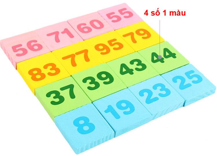 Bộ toán học Domino 300 chi tiết