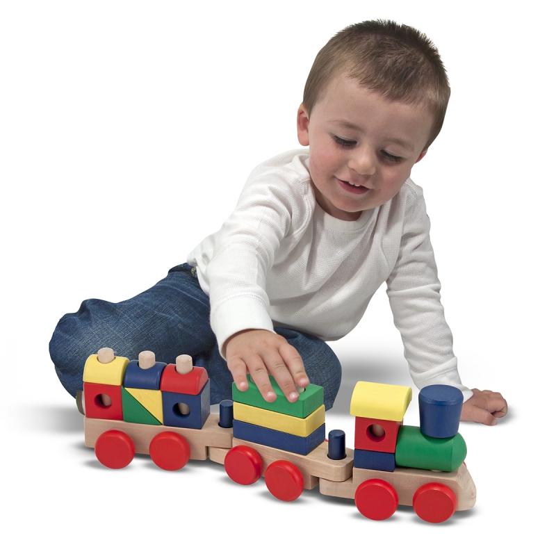 Đồ chơi trẻ em giúp phát triển trí não