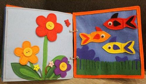 Sách vải an toàn cho bé