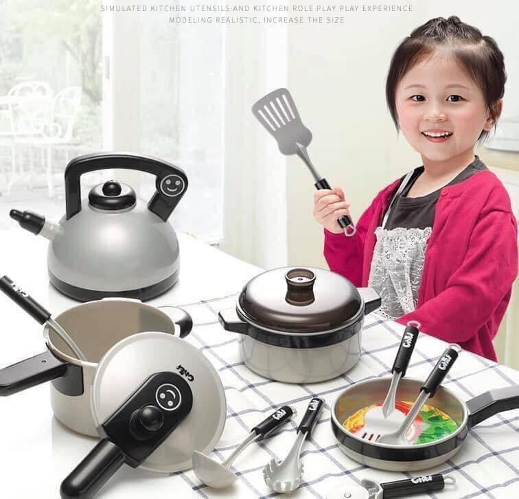Bộ đồ chơi nấu ăn giúp trẻ giải trí