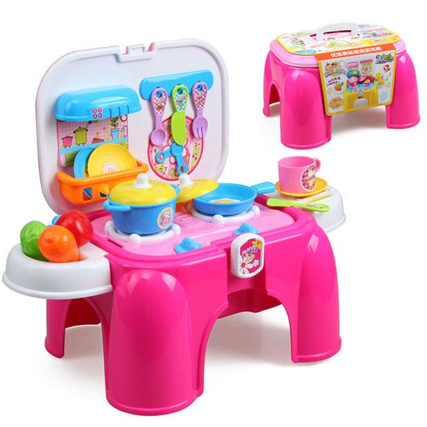 Bộ đồ chơi nấu ăn giúp trẻ tránh xa điện thoại, ipad