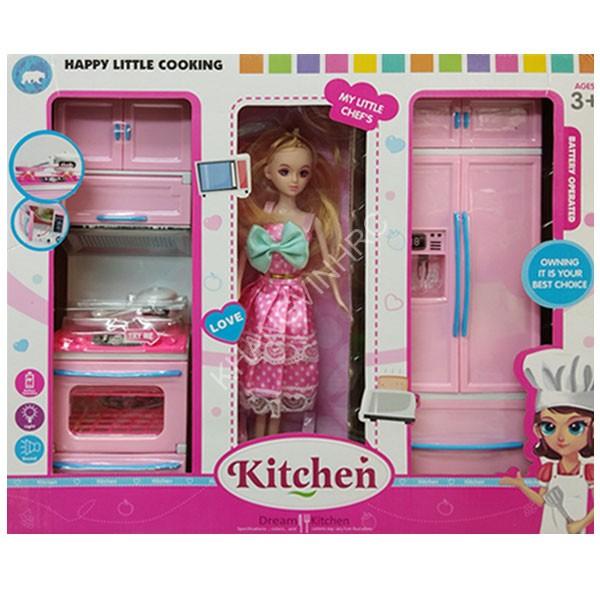 Búp bê Barbie nấu ăn dễ thương cho bé