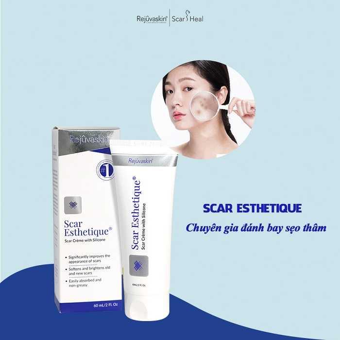 Công dụng kem trị sẹo Scar Esthetique