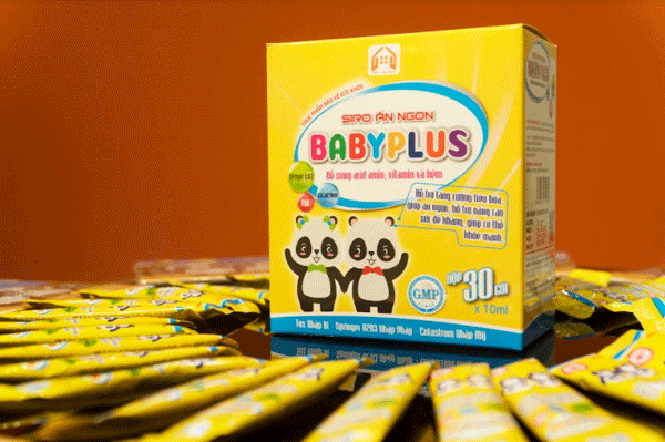 Siro ăn ngon Baby Plus
