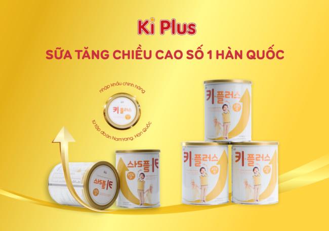 Sữa bột tăng trưởng chiều cao Ki Plus - Số 1 Hàn Quốc